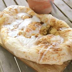 Breakfast Cinnamon Pizza